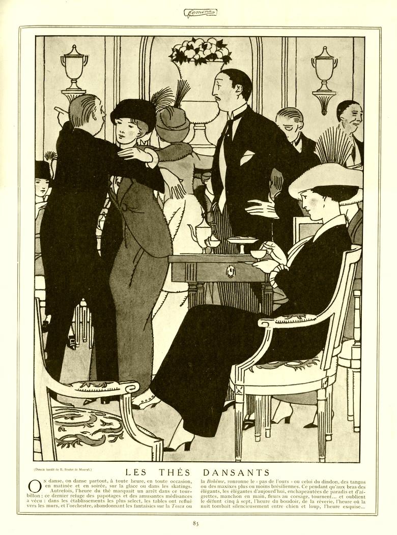revue femina 15 fevrier 1913. Black Bedroom Furniture Sets. Home Design Ideas